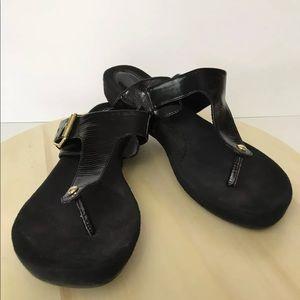 Gianni Bernini Flip Flop Sandal Patent Leather 8